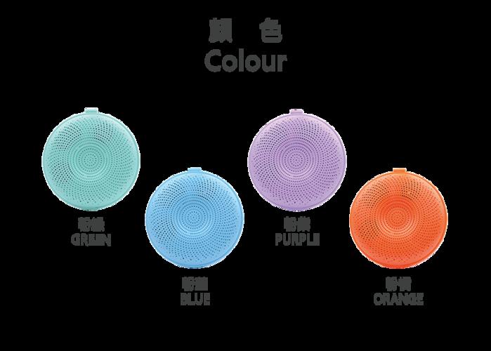 【集購】BIGGER|LED 炫彩防水漂浮藍牙喇叭(四色任選)