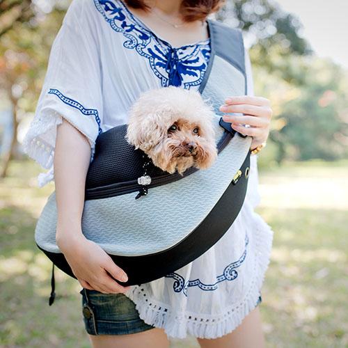 BIGGER FEEL U 寵物側背包-XL