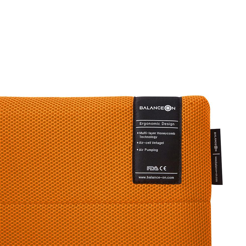 倍力舒|Balanceon 蜂巢凝膠健康坐墊-橙色(M號)