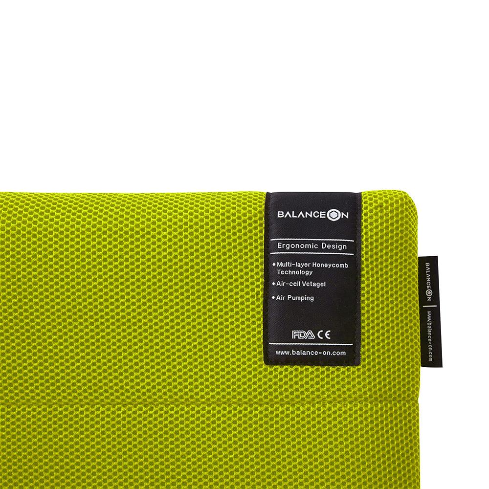 倍力舒 Balanceon|蜂巢凝膠健康坐墊-綠色(M號)