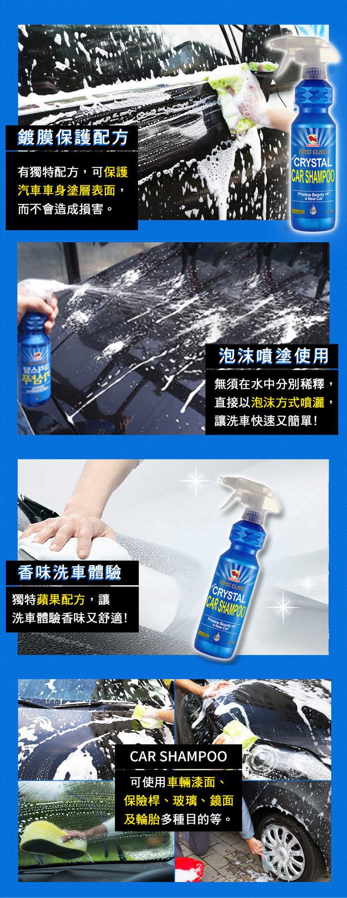勁牛王 | Bullsone Crystal水晶洗車精 (步驟 1)