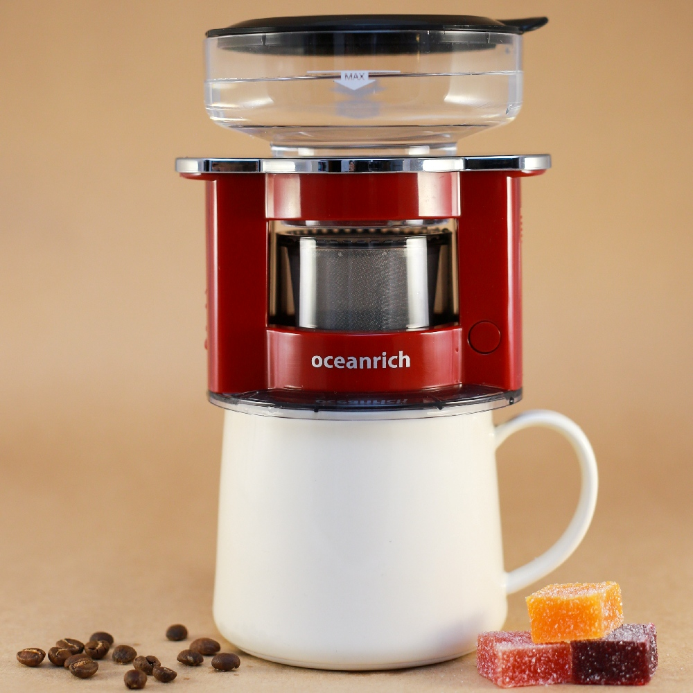 Oceanrich 單人旋轉萃取咖啡機S2(莧紅色)