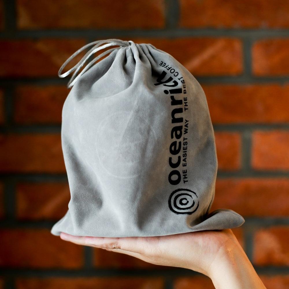 Oceanrich|單人旋轉萃取咖啡機S2(凝脂白)