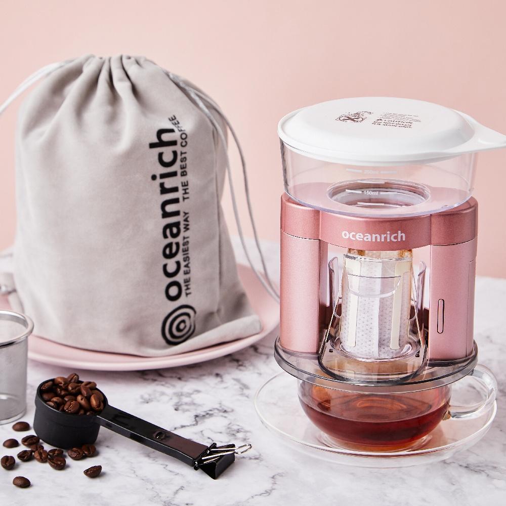 Oceanrich 二合一自動旋轉萃取咖啡機(幸福粉)