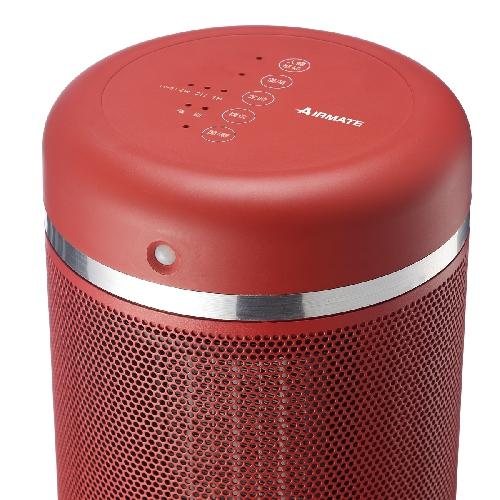 AIRMATE 人體感知美型陶瓷電暖器HP12101M(聖誕紅)