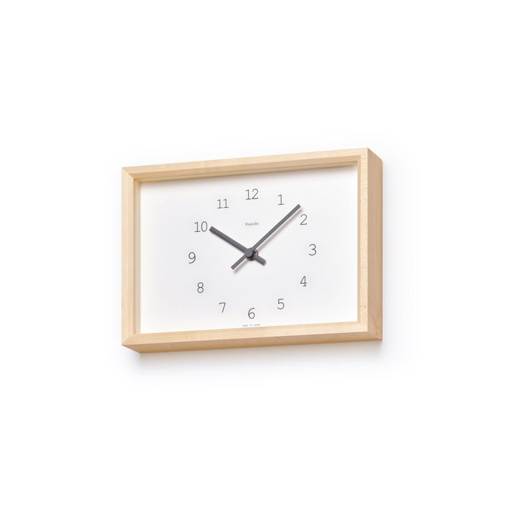 Lemnos|Kaede 楓木時鐘