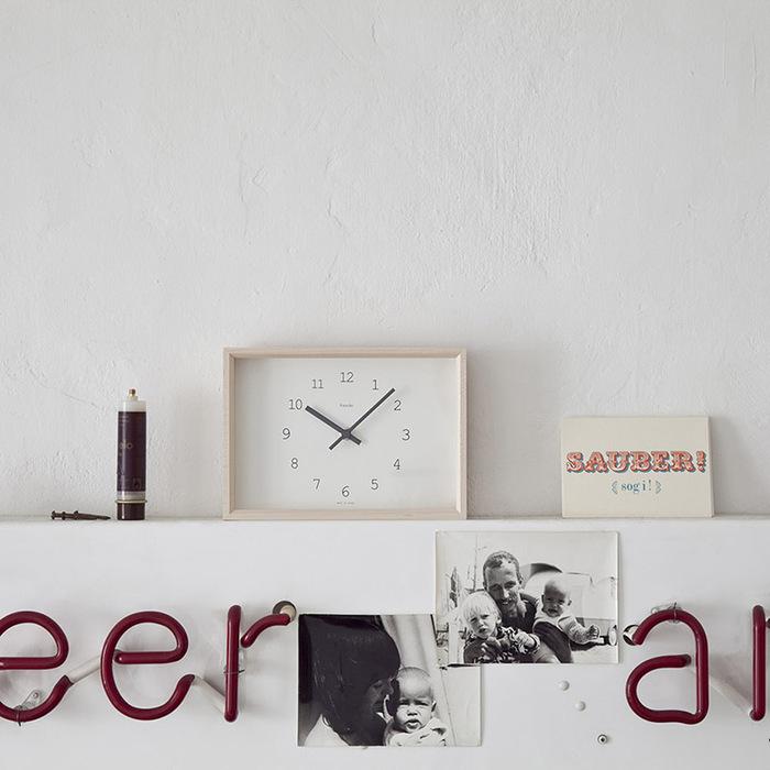 Lemnos | Kaede 楓木時鐘
