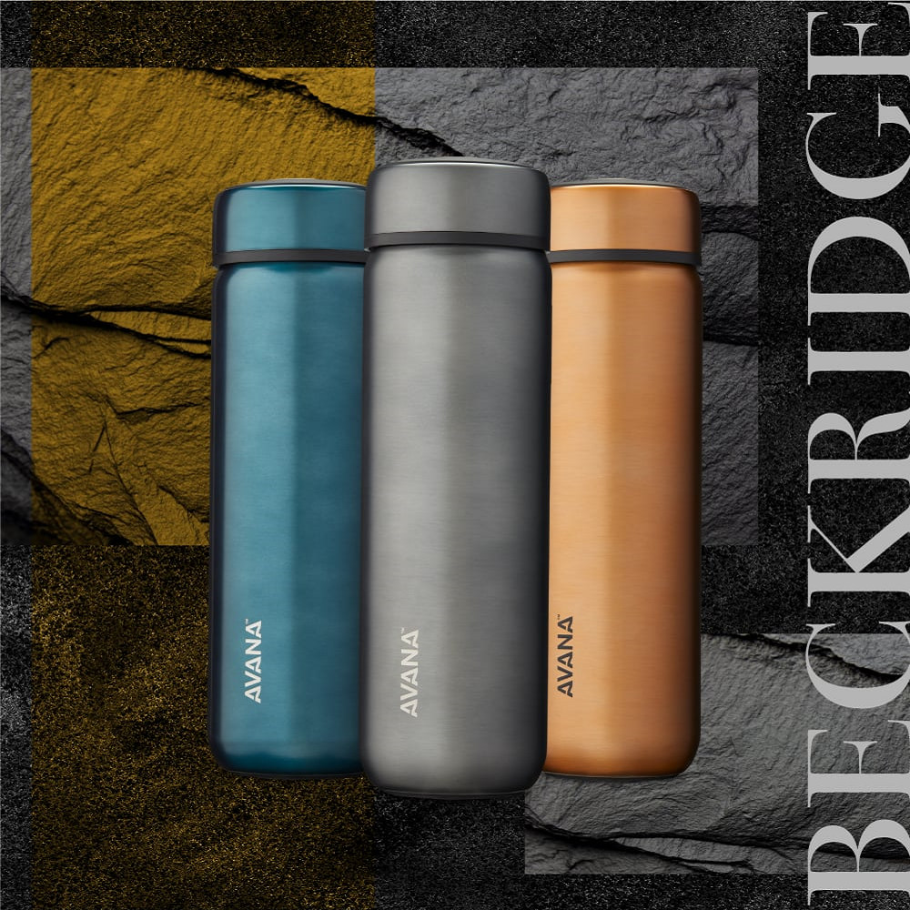 AVANA|BECKRIDGE 創新雙飲口保溫瓶735ml