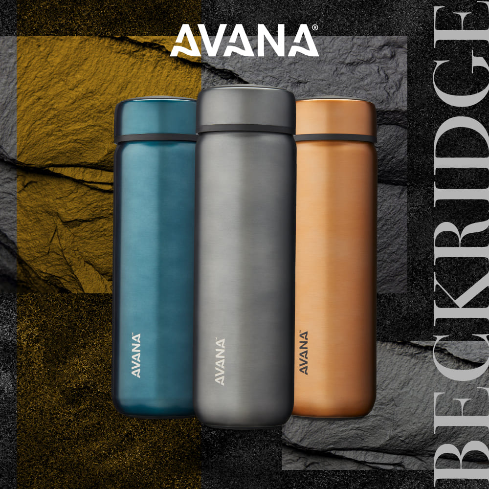 AVANA|BECKRIDGE 創新雙飲口保溫瓶945ml