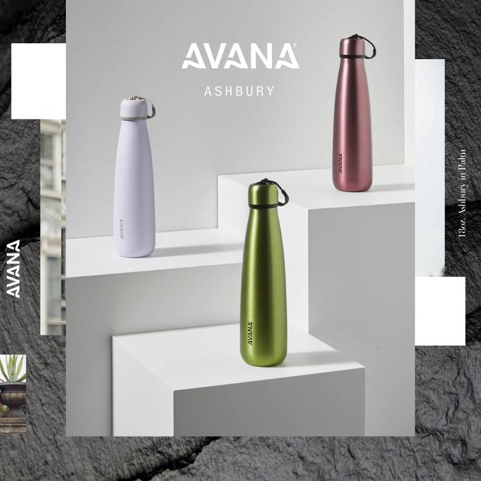 AVANA ASHBURY 創新雙飲口保溫瓶530ml