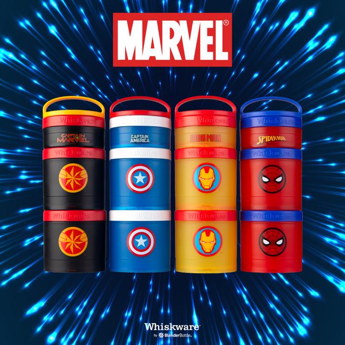 Whiskware™ Snacking Marvel 三層零食盒-蜘蛛人