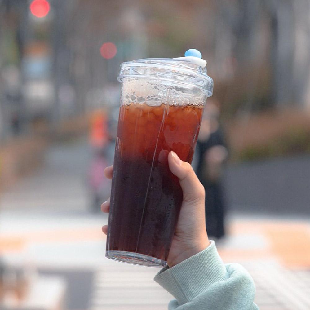 FLOAT|漂浮珍奶杯 Tritan版(藍莓優格)