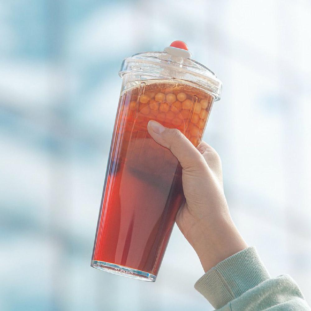 FLOAT|漂浮珍奶杯 Tritan版(草莓奶昔)