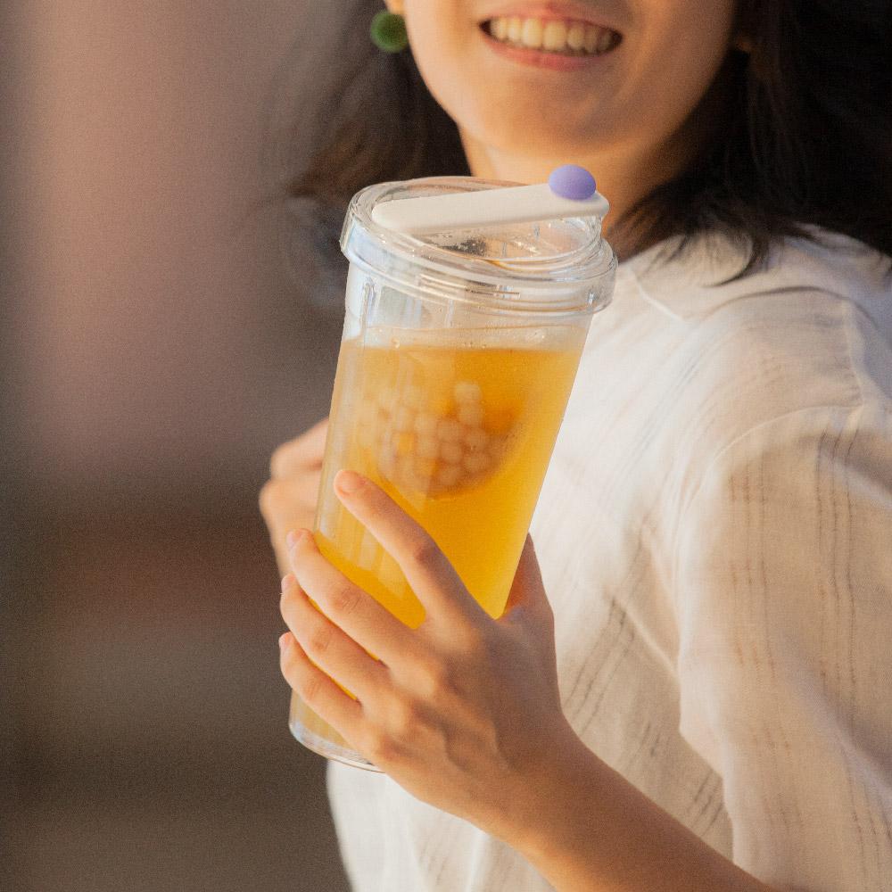 FLOAT|漂浮珍奶杯 Tritan版(芋頭鮮奶)