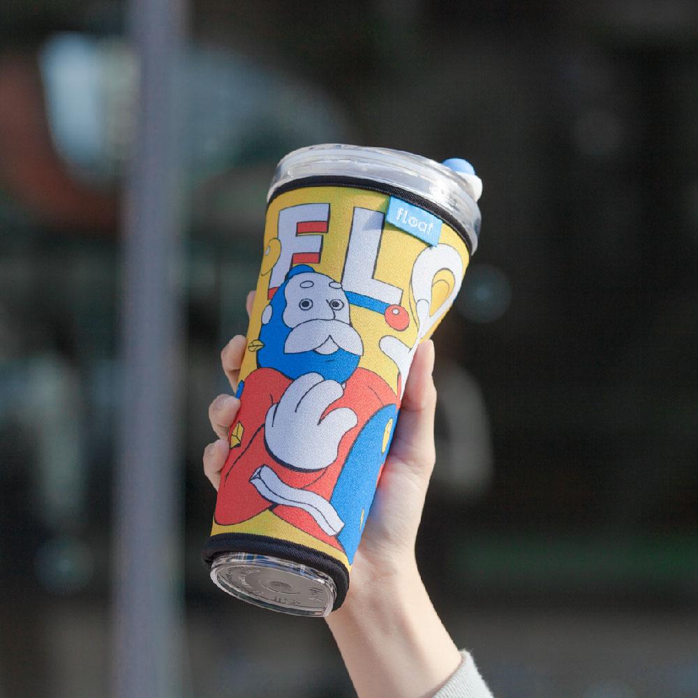 FLOAT|漂浮珍奶杯專用杯套(漂浮派對)
