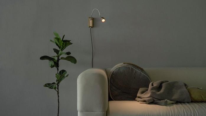 台電文創 X META Design|Whims E010 LED床頭閱讀壁燈 木橫擔-淺色