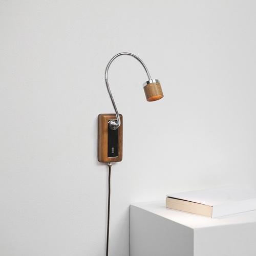 台電文創 Whims E010 LED床頭閱讀壁燈 退役木橫擔 花面