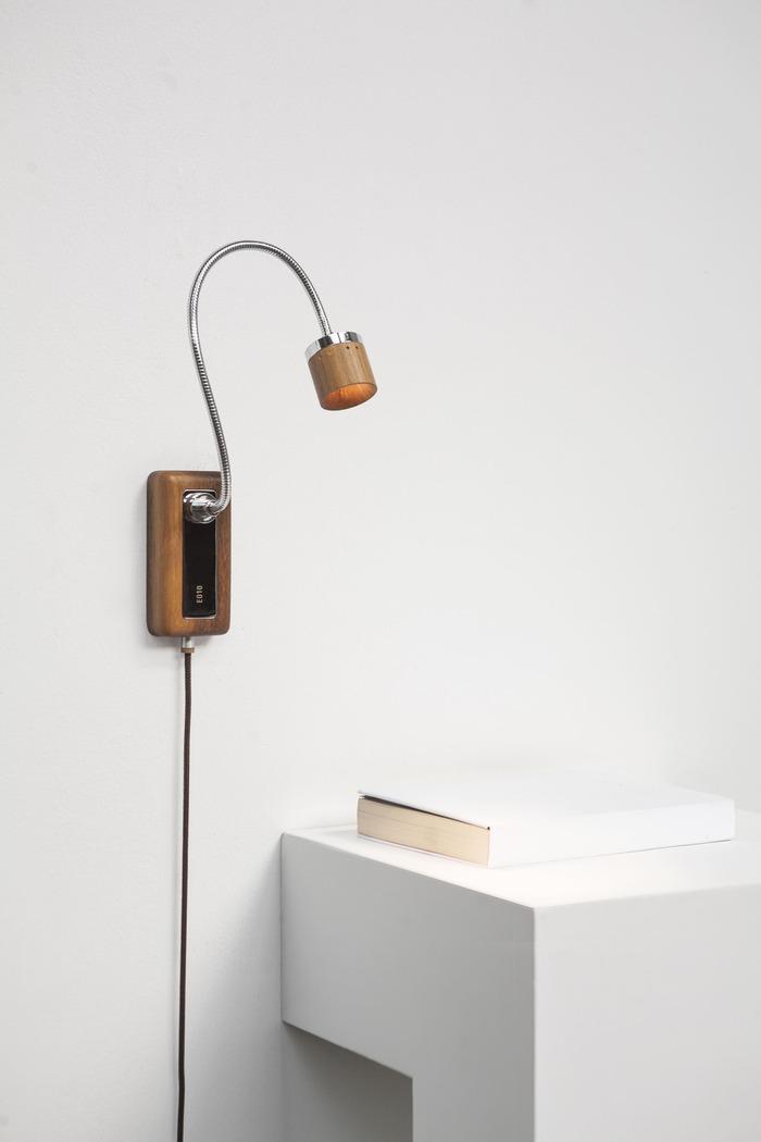 台電文創 X META Design Whims E010 LED床頭閱讀壁燈 木橫擔-花色