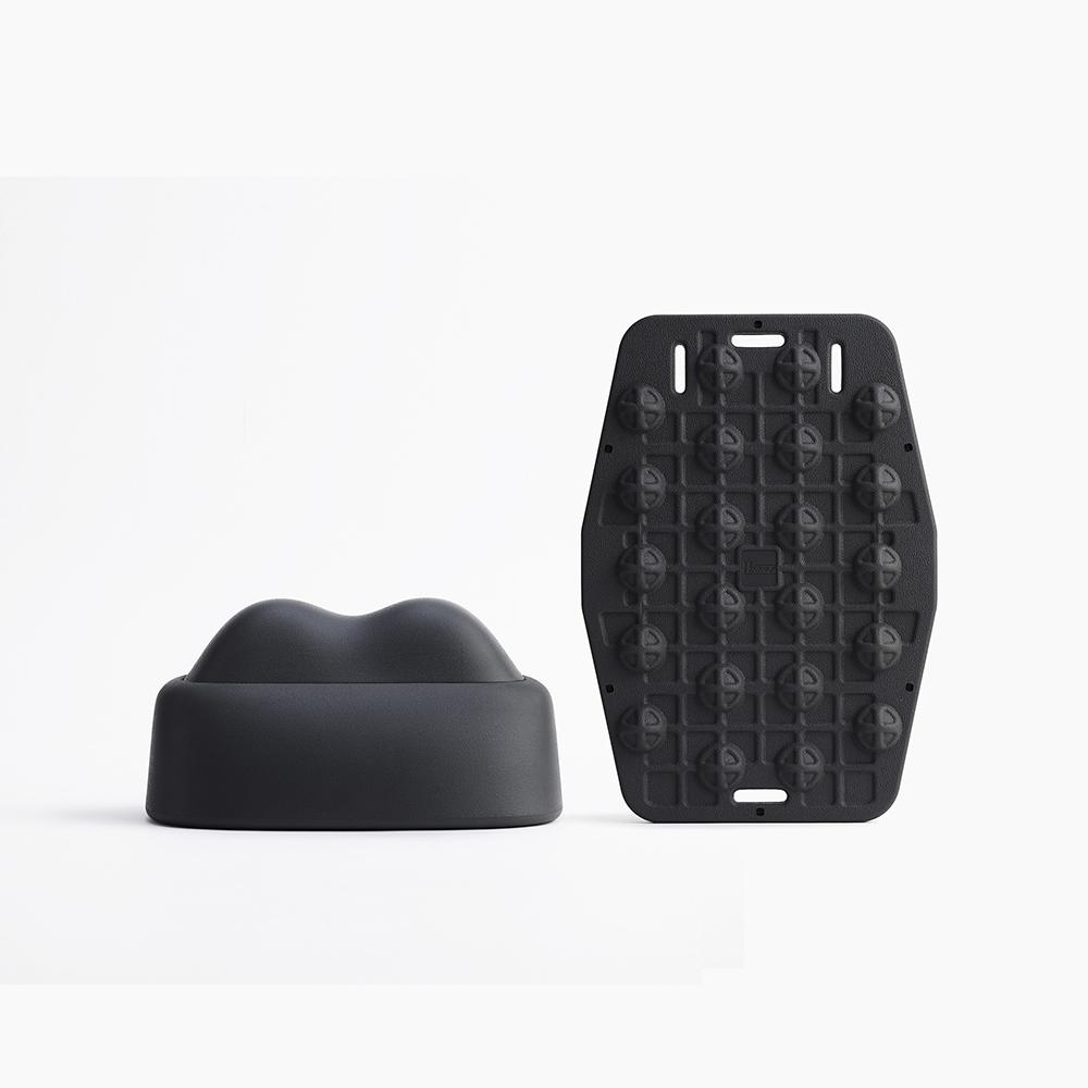 PCARE|N tool 按摩家私-黑 + Vpad靠墊-黑