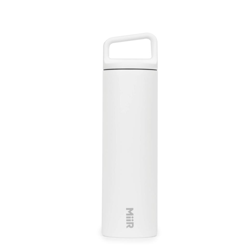 MiiR|雙層真空 保溫 保冰 寬口 提把蓋 保溫瓶 20oz / 591ml 時尚白