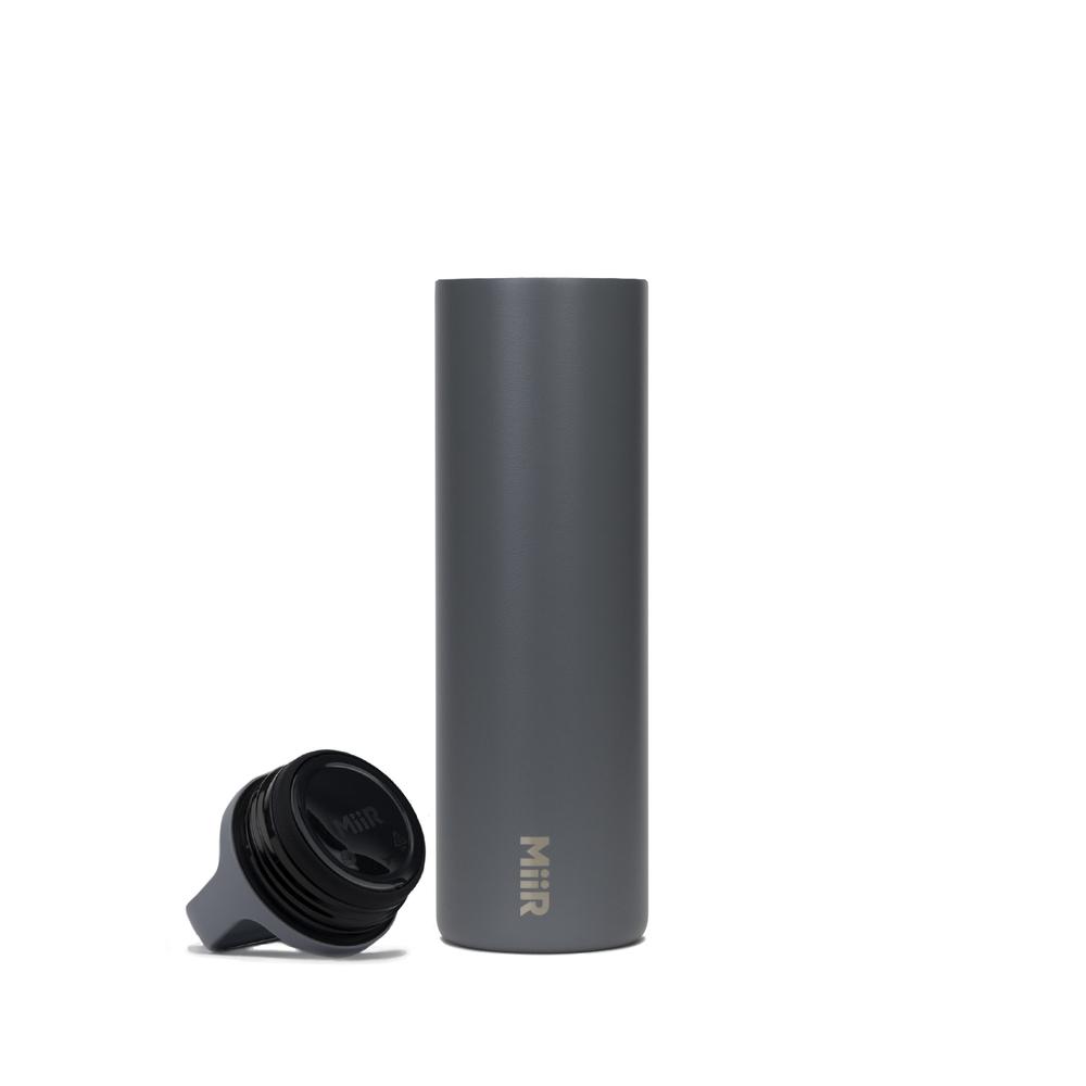 MiiR|雙層真空 保溫 保冰 寬口 提把蓋 保溫瓶 20oz / 591ml 海霧灰