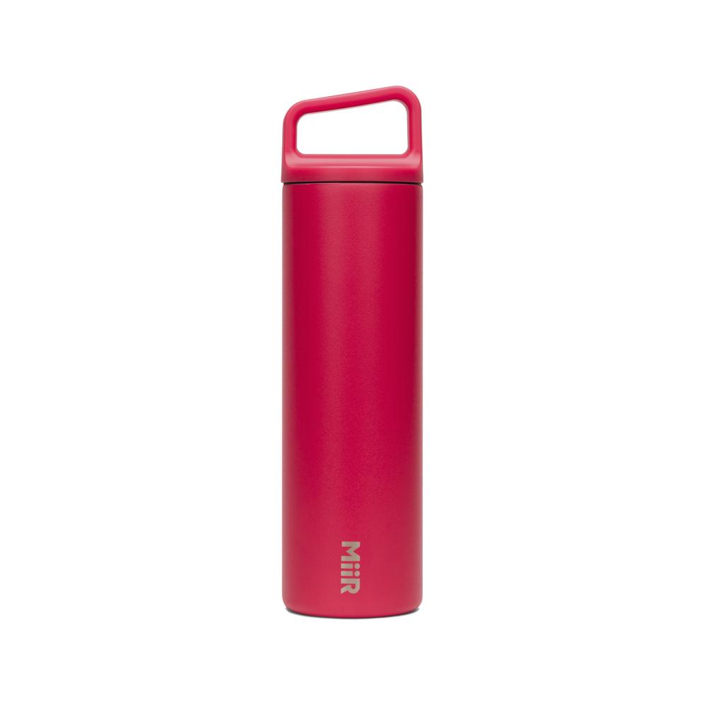 MiiR 雙層真空 保溫 保冰 寬口 提把蓋 保溫瓶 20oz / 591ml 櫻桃紅