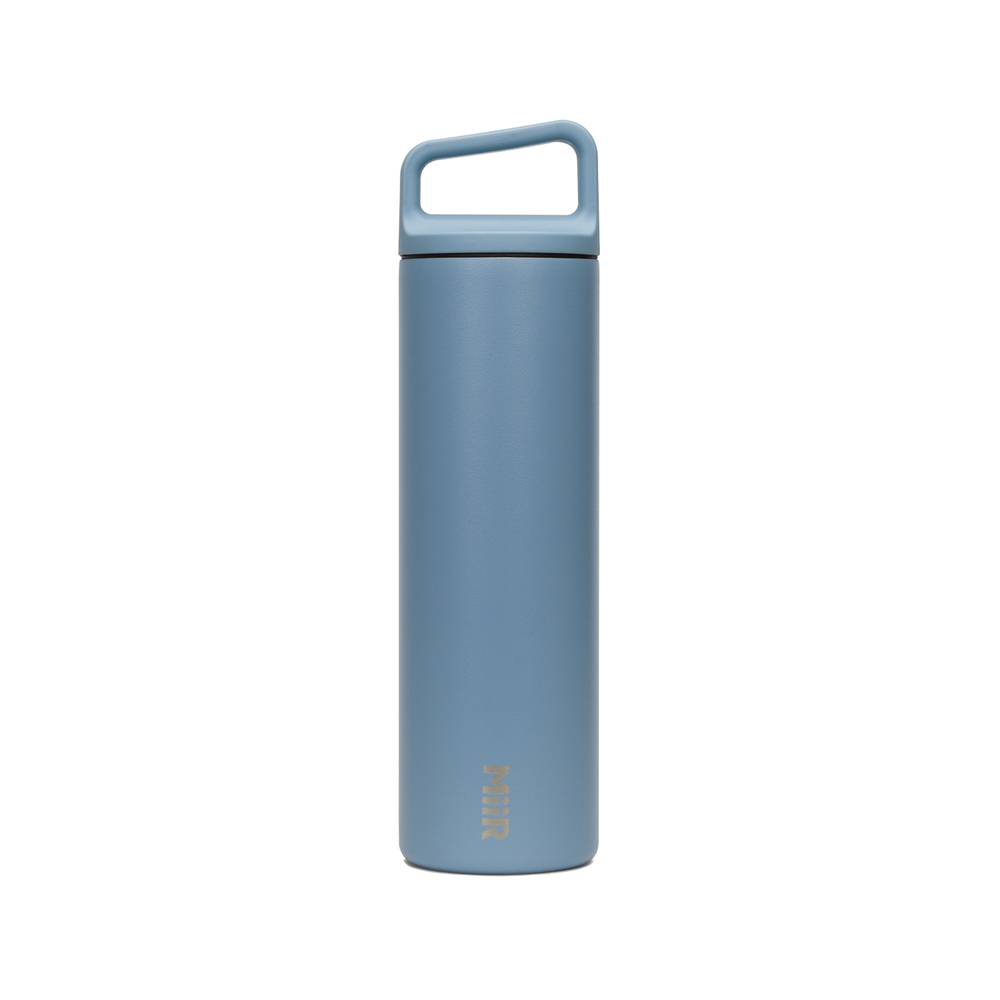 MiiR 雙層真空 保溫 保冰 寬口 提把蓋 保溫瓶 20oz / 591ml 地出藍