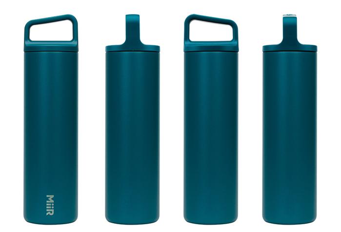(複製)MiiR 雙層真空 保溫 保冰 寬口 提把蓋 保溫瓶 20oz / 591ml 地出藍
