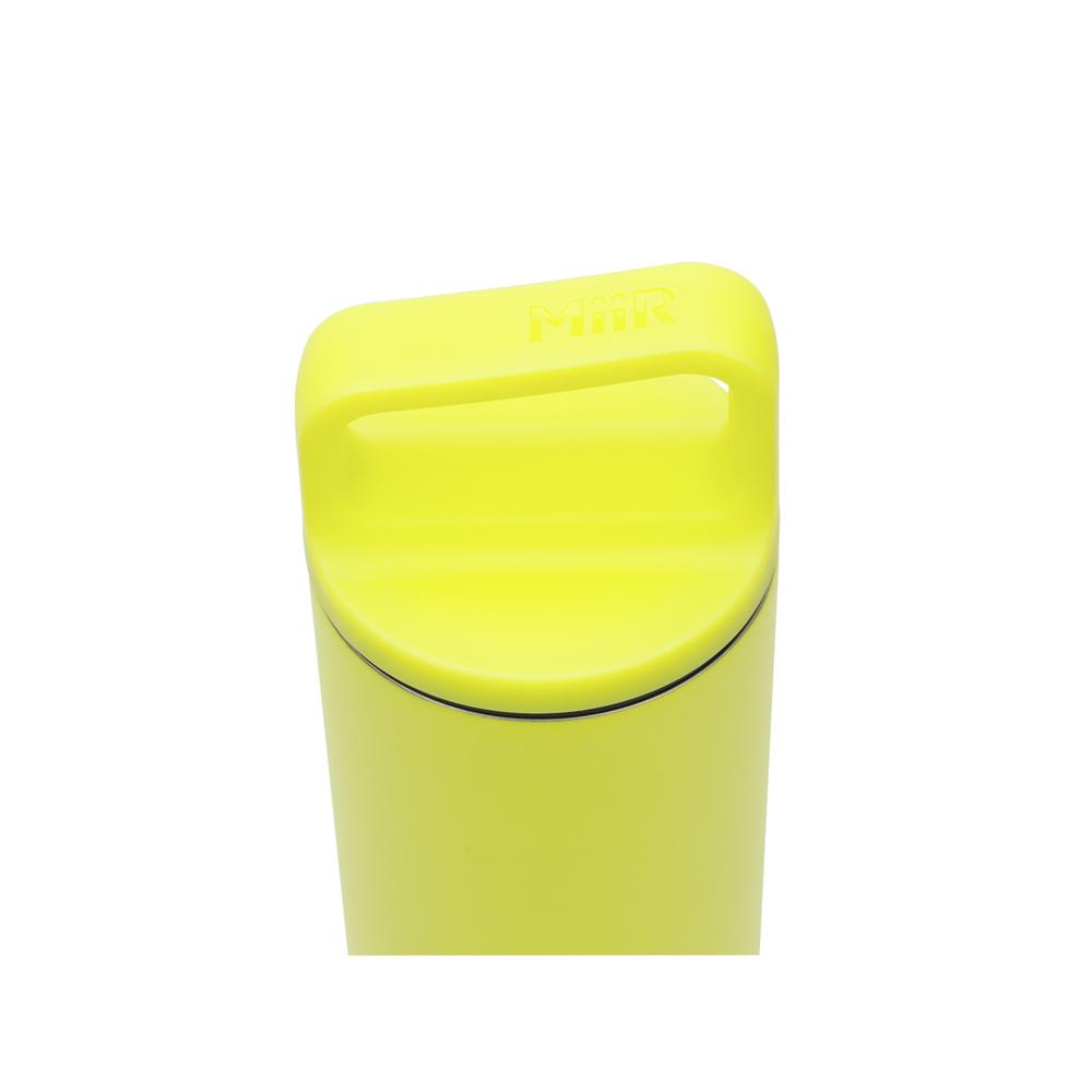 MiiR 雙層真空 保溫 保冰 寬口 提把蓋 保溫瓶 20oz / 591ml 電擊黃