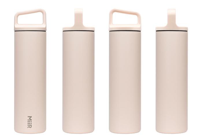 (複製)MiiR|雙層真空 保溫 保冰 寬口 提把蓋 保溫瓶 20oz / 591ml 電擊黃