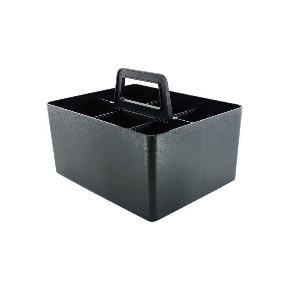 O-Life 手提式可堆疊整理收納盒 兩件組 S-2822
