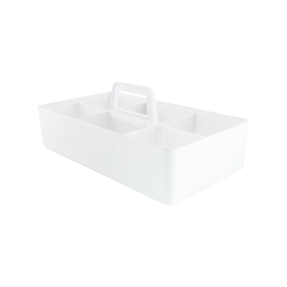 O-Life 手提式可堆疊整理收納盒 兩件組 S-3222