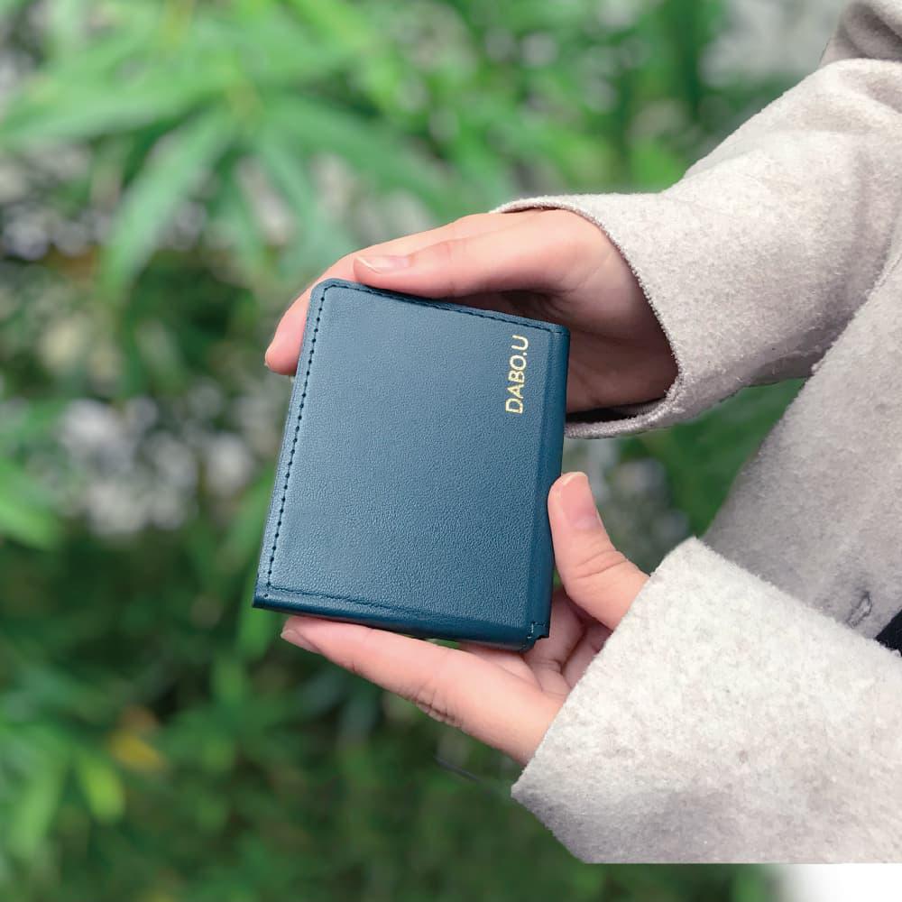 DABO.U|世界首款磁吸口罩皮夾(兩入組)