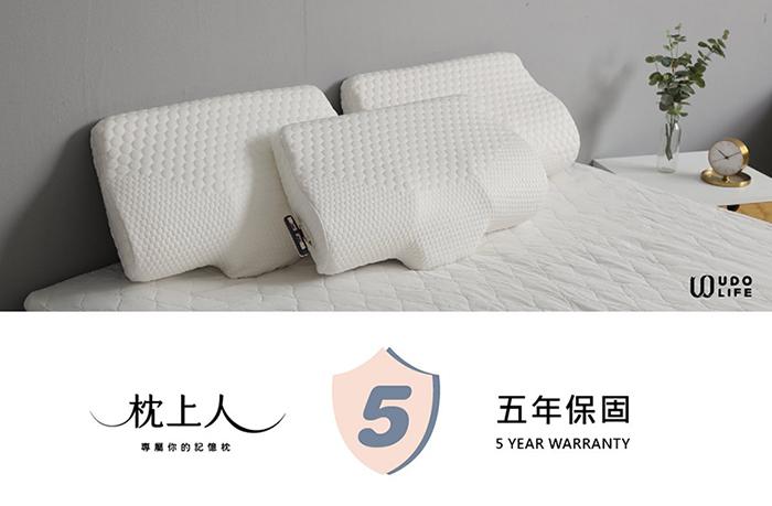 【集購】UDOLIFE|枕上人 舒眠透氣記憶枕