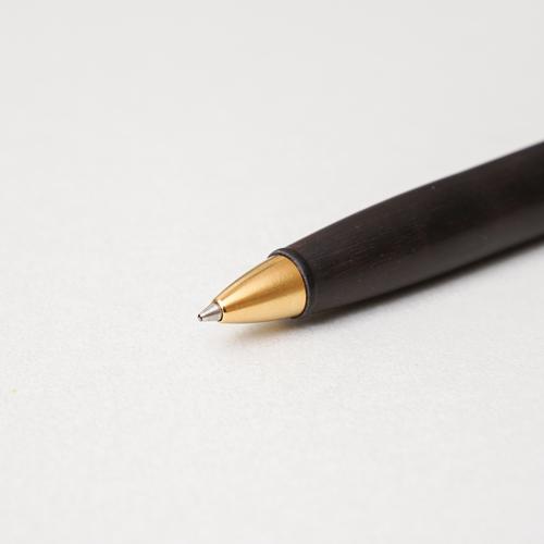 知音文創|原木油性筆 書寫筆 科檀 東非黑黃檀