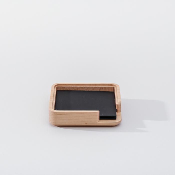 (複製)知音文創|實木堆疊文具收納 名片座