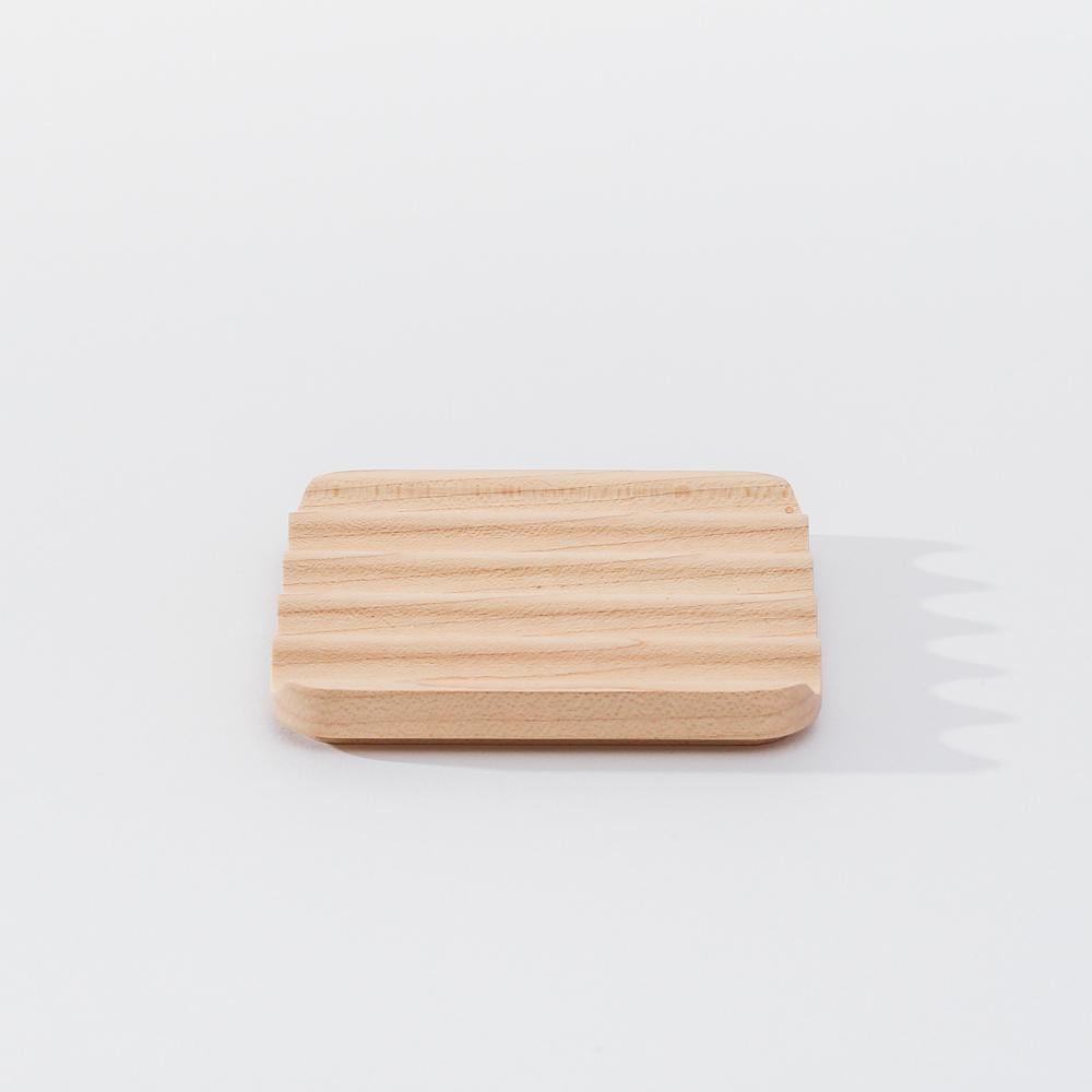 知音文創|實木堆疊文具收納 置物蓋-方