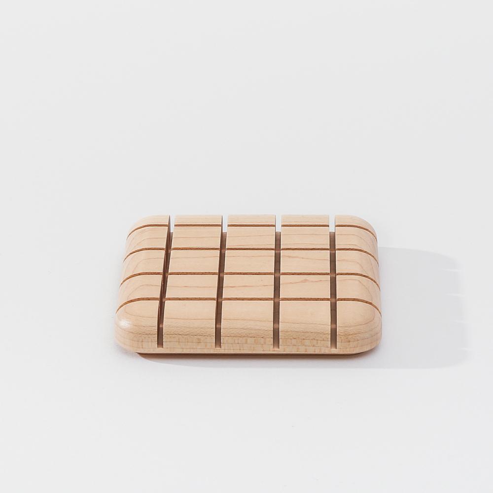 知音文創|實木堆疊文具收納 名片座