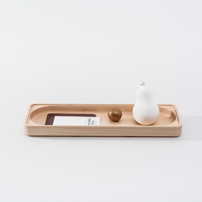 (複製)知音文創|實木堆疊文具收納 單格長盤