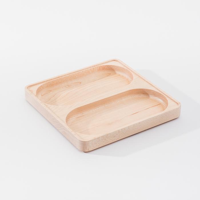 (複製)知音文創|實木堆疊文具收納 單格大長盤