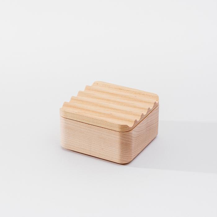 (複製)知音文創|實木堆疊文具收納 雙格大長盤
