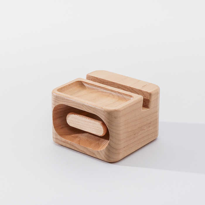 (複製)知音文創|實木堆疊文具收納  黃銅文件架M