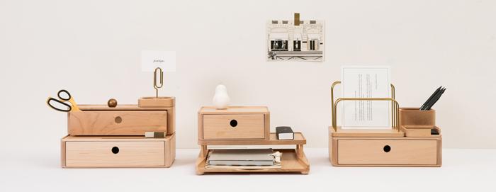 (複製)知音文創|實木堆疊文具收納  手機擴音箱