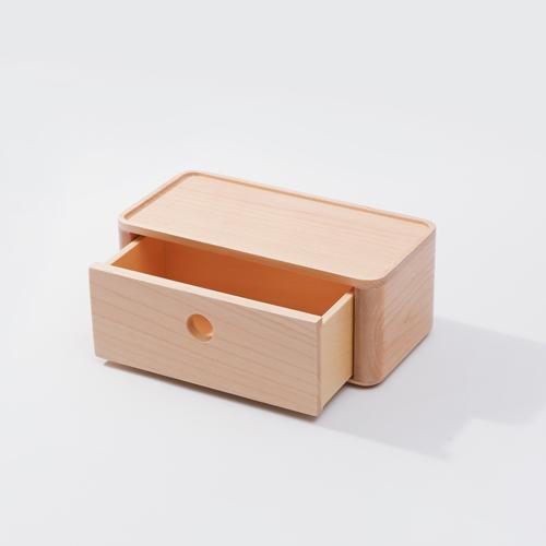 知音文創|實木堆疊文具收納  90*180單層抽屜