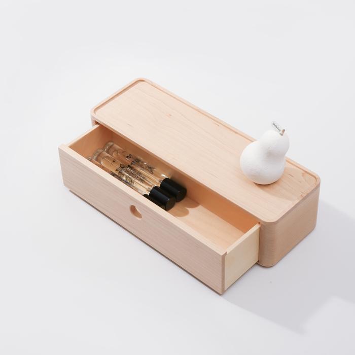 (複製)知音文創|實木堆疊文具收納  90*180單層抽