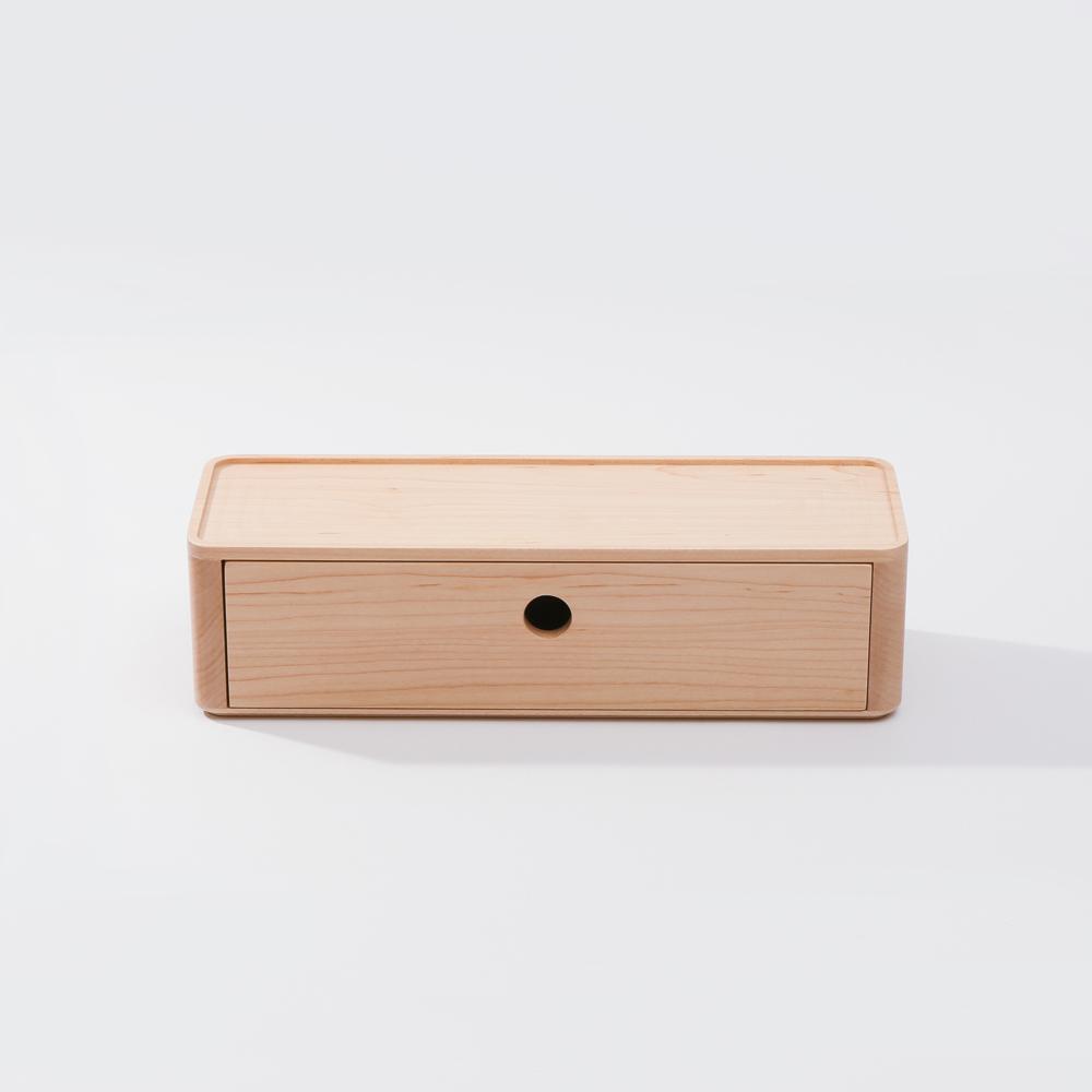 知音文創|實木堆疊文具收納  90*270單層抽屜