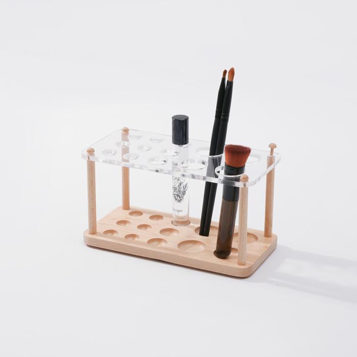 (複製)知音文創|實木堆疊文具收納  鏡台