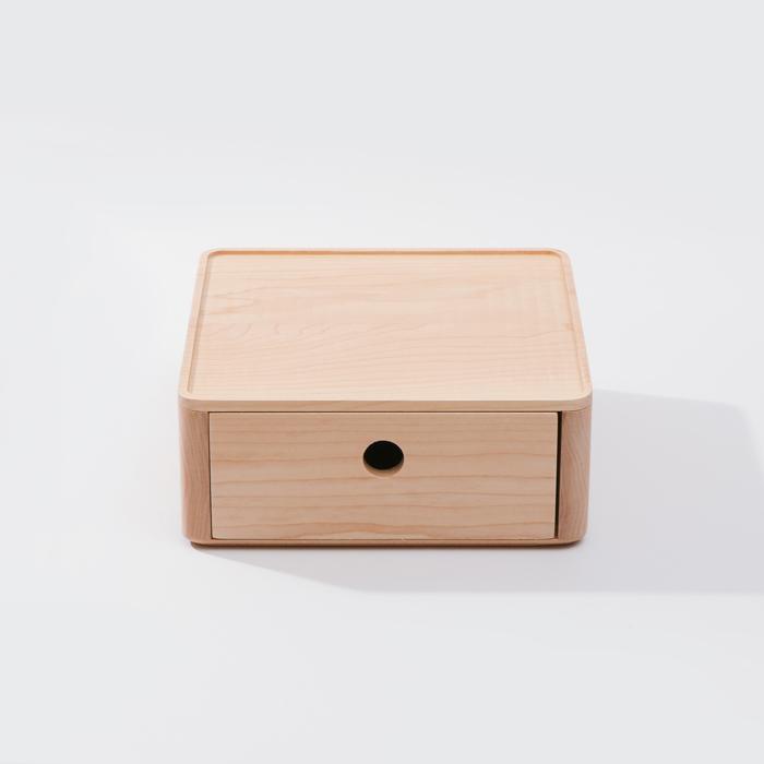 (複製)知音文創 實木堆疊文具收納  270*180單層抽屜