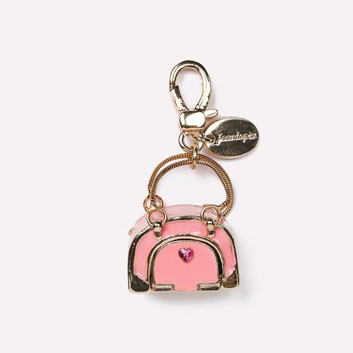 知音文創|立體吊飾 飾品 粉紅寵物包