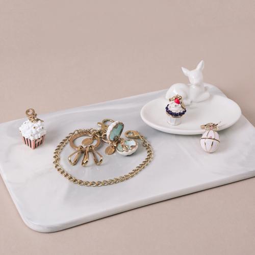 知音文創 立體吊飾 飾品 白色貝殼